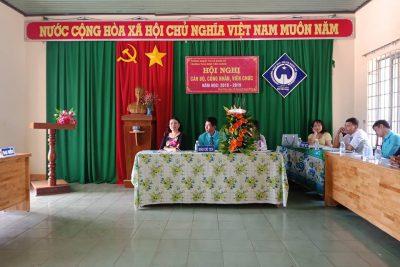 Hội nghị công nhân viên chức năm học 2018-2019